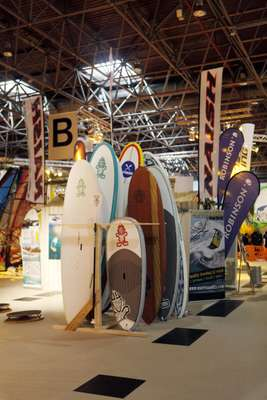 Paddle-boards in Hall 1