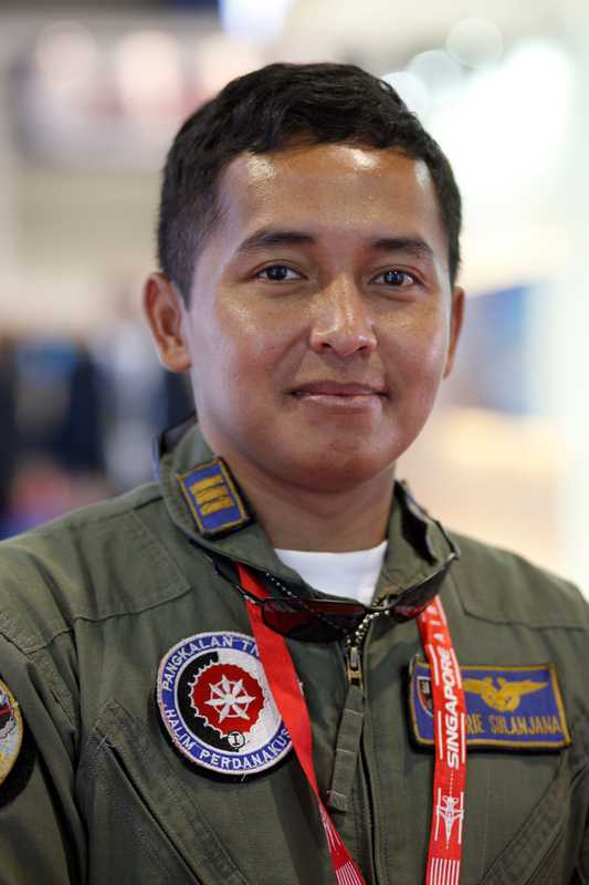 Arie Sulanja of the Indonesian Air Force