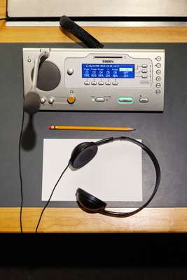 Interpreters' equipment with language channels