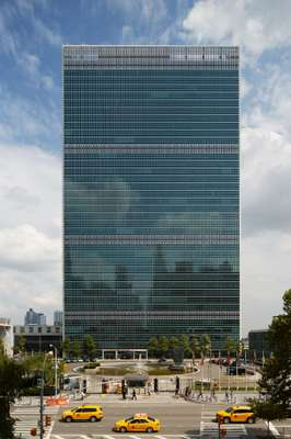 All 38 floors of the UN headquarters