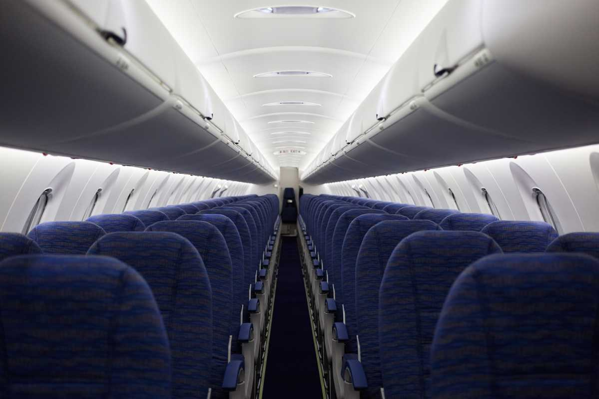 CRJ interior for China Express Airlines