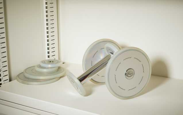 9- Technogym dumbbells