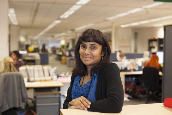 Senior executive editor Pam Das has been on the team for 11 years