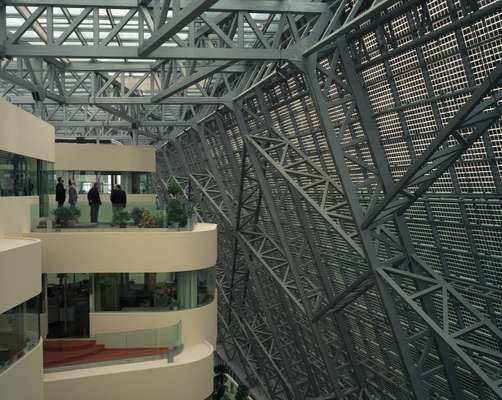The interior of Suntech