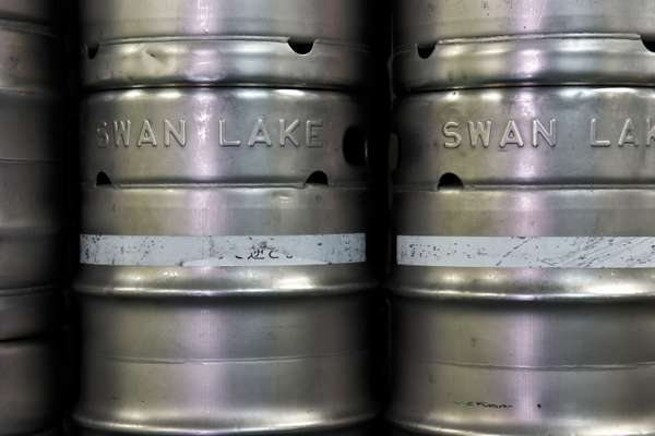 Kegs ready to ship out