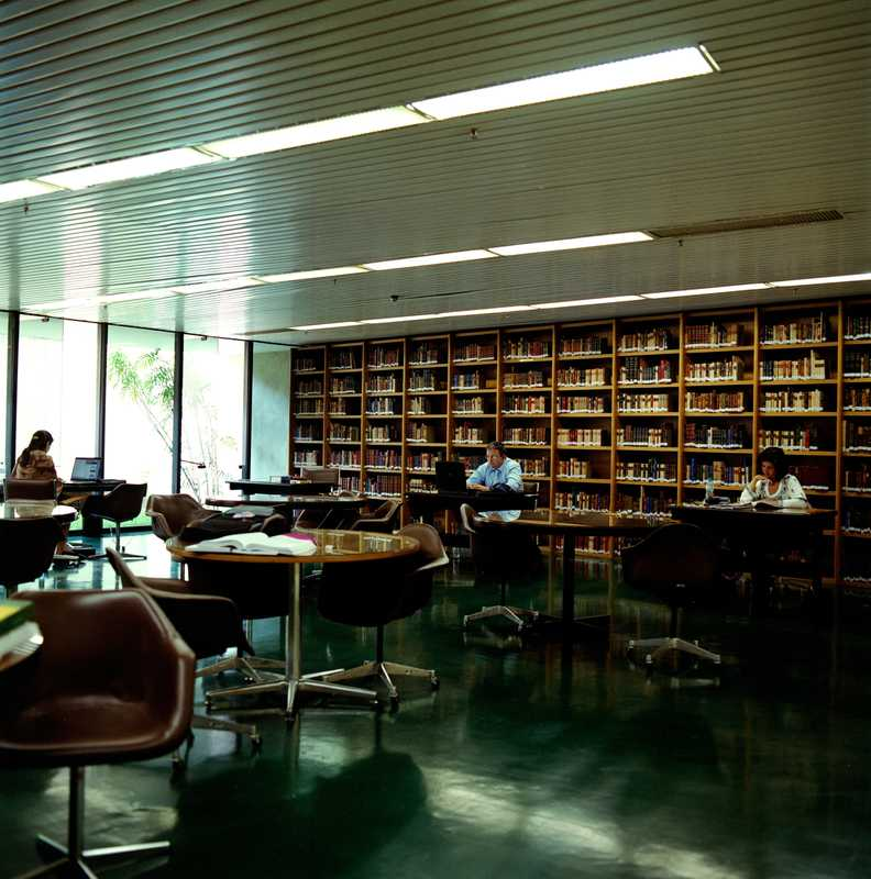 Library at the ministry