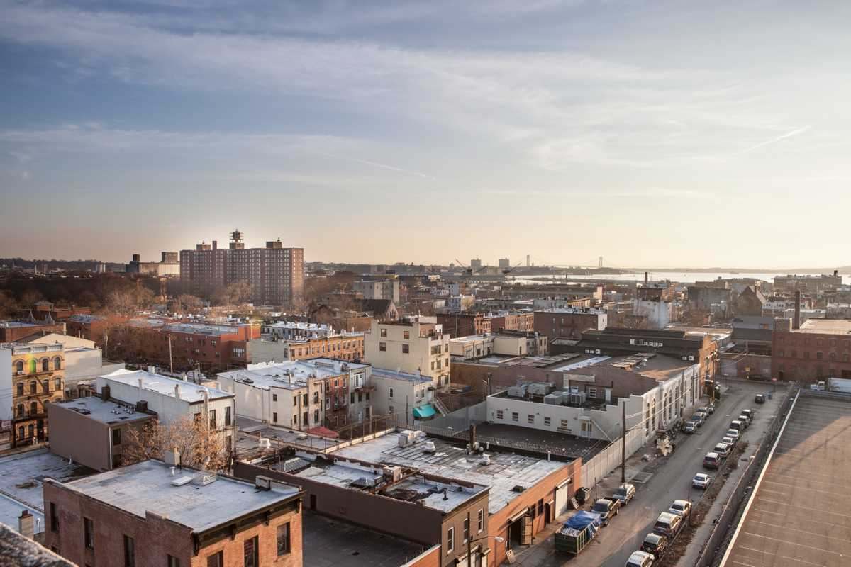 The roofs of Red Hook