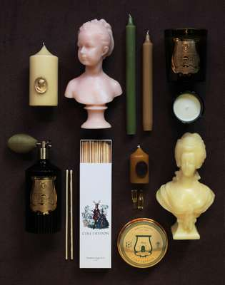 A selection of Cire Trudon products