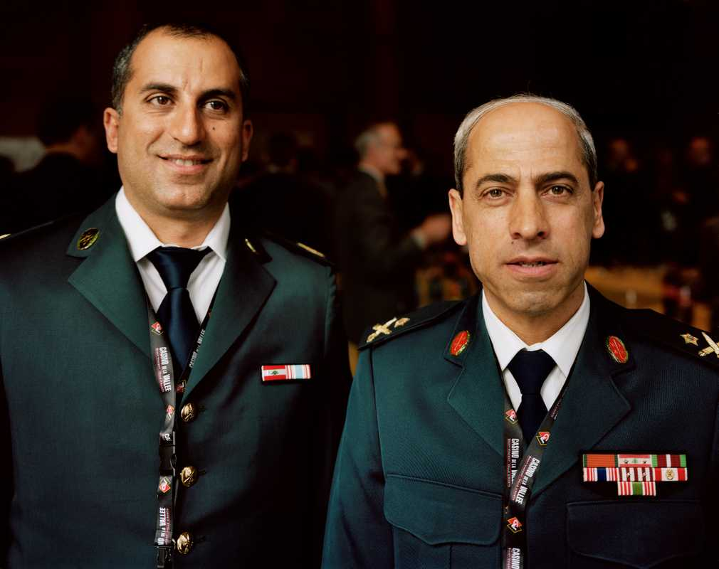 Senior Lebanese officers