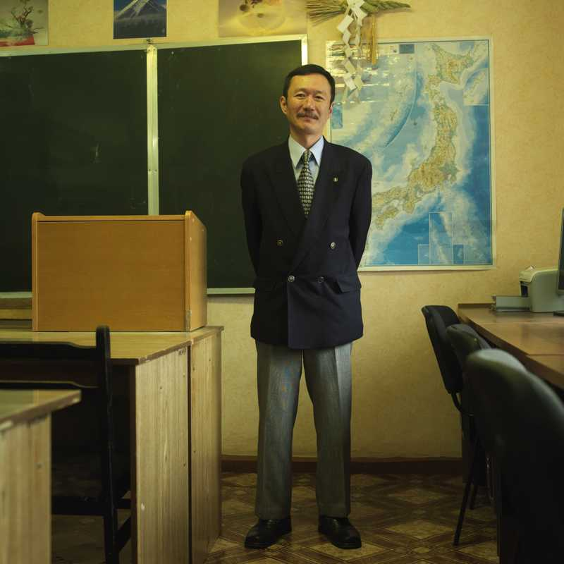 Enamito Yukihiko, Japanese teacher at Kamchatka state university