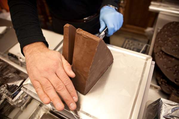Gianduja chocolate at Guido Gobino
