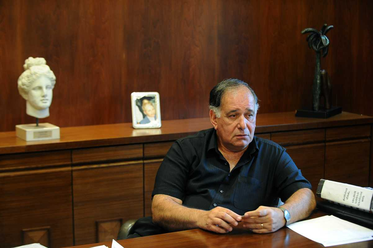Haifa's mayor, Yona Yahav