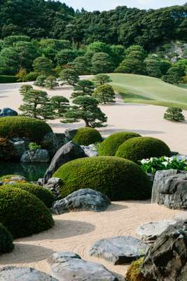 Garden at the Adachi Museum of Art