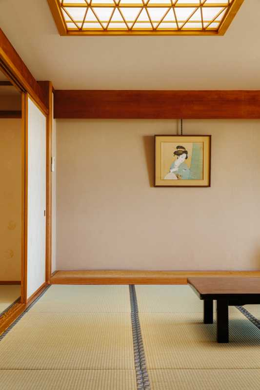 Japanese-style guest room