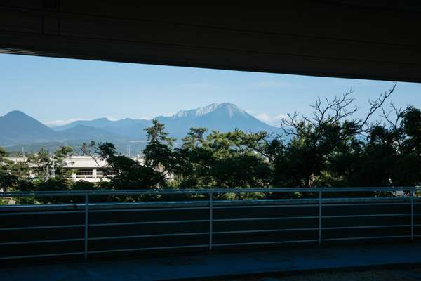 View towards Mount Daisen