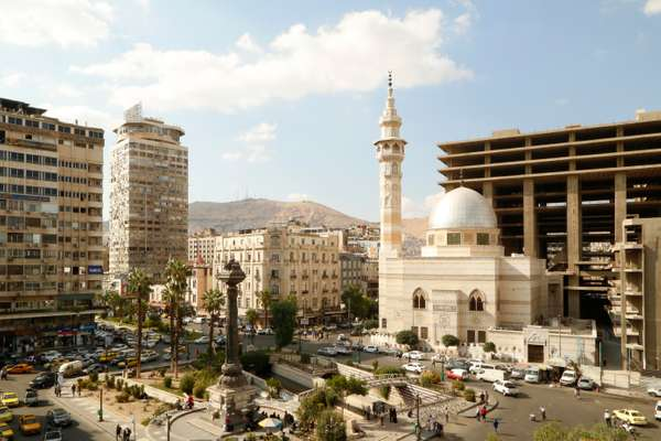 Merjeh Square is one of the biggest areas in Damascus