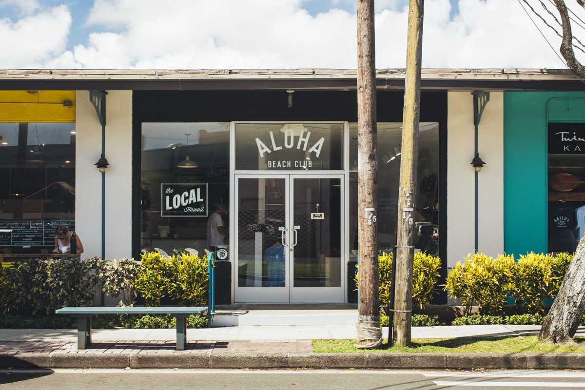 Aloha Beach Club in Kailua