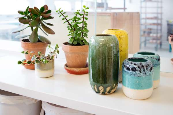 Studio Arhoj's brightly coloured pots