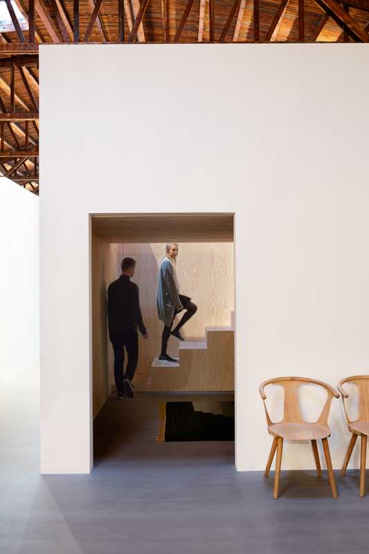 Dinesen House includes chairs by Sami Kallio for &Tradition and rug by All the Way to Paris