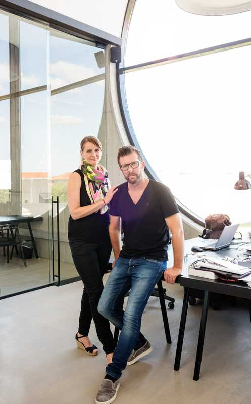 Malene and Claus Bellinger head a successful eyewear company