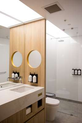 Lounge bathrooms