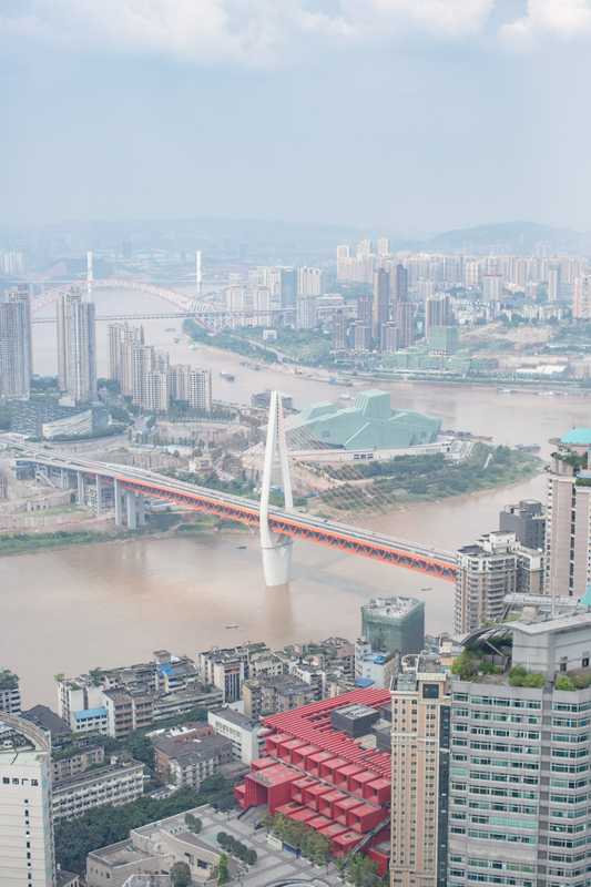Where the Jialing and Yangtze rivers meet