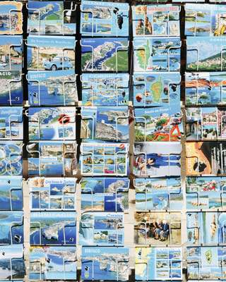Get your postcard in Bonifacio