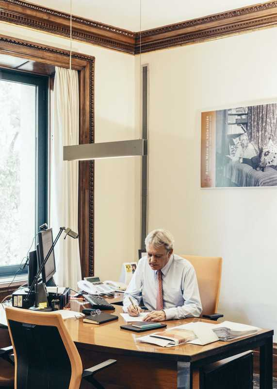 Managing Director José María Martínez Alonso in his Madrid office