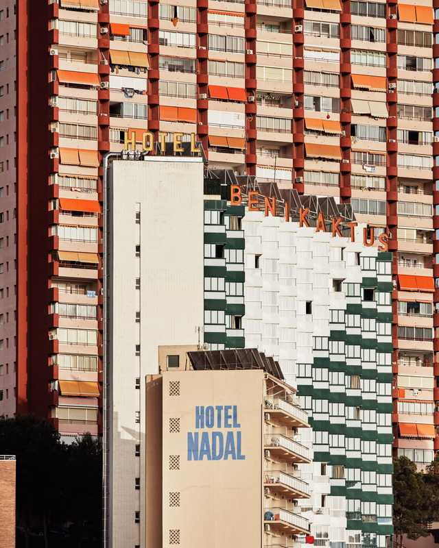 Benidorm's mosaic of modernism