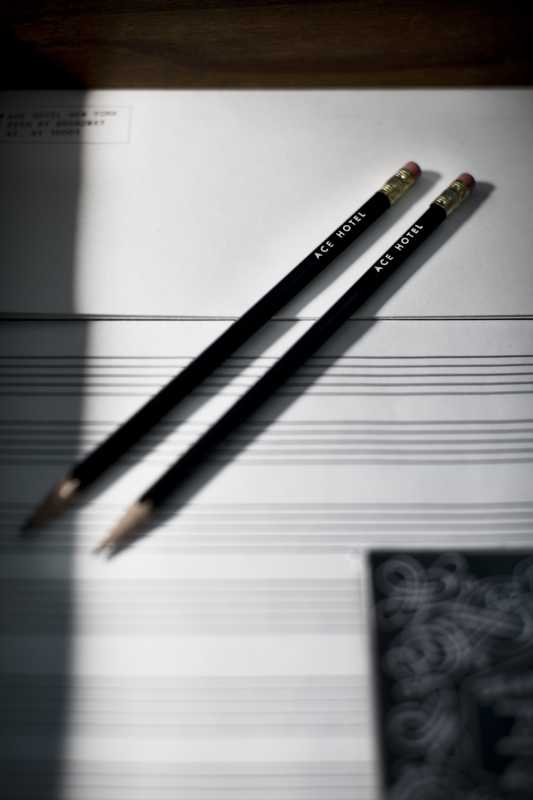 Customised stationery and sheet music paper