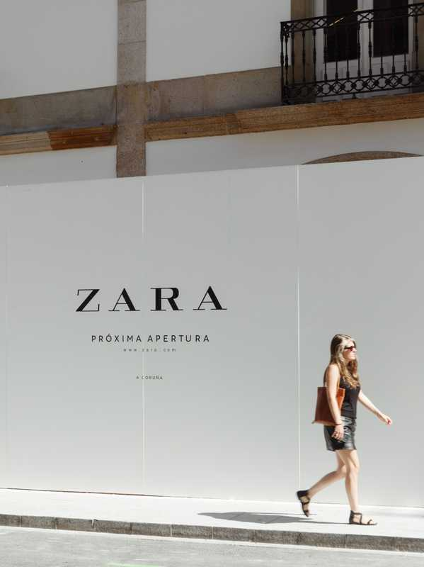 A Coruña is home to both the oldest and newest Zara outlets in the world
