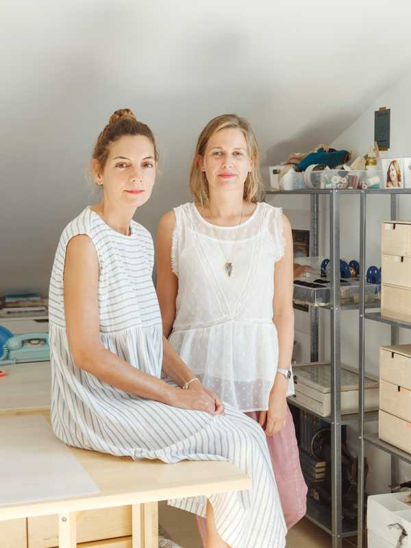 Marta Valdés and Beatríz Faya, founders of Emebe