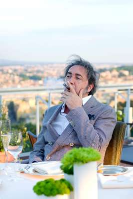 Paolo Sorrentino mulling over his 'last meal'