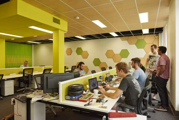 University co-working space