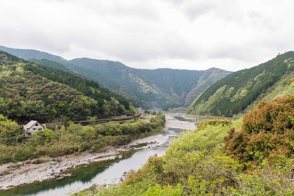 Monobe River in Kochi prefecture