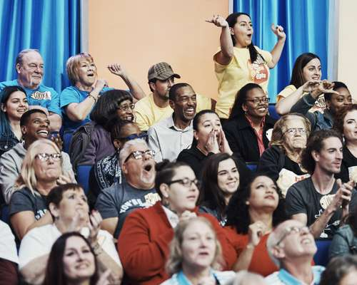 Audience participation at 'The Price is Right'