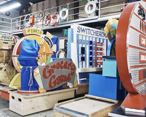 Games galore: 'The Price Is Right' storage facility at CBS Television City