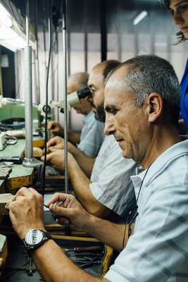 Yeprem's jewellery is made at its HQ in Bourj Hammoud