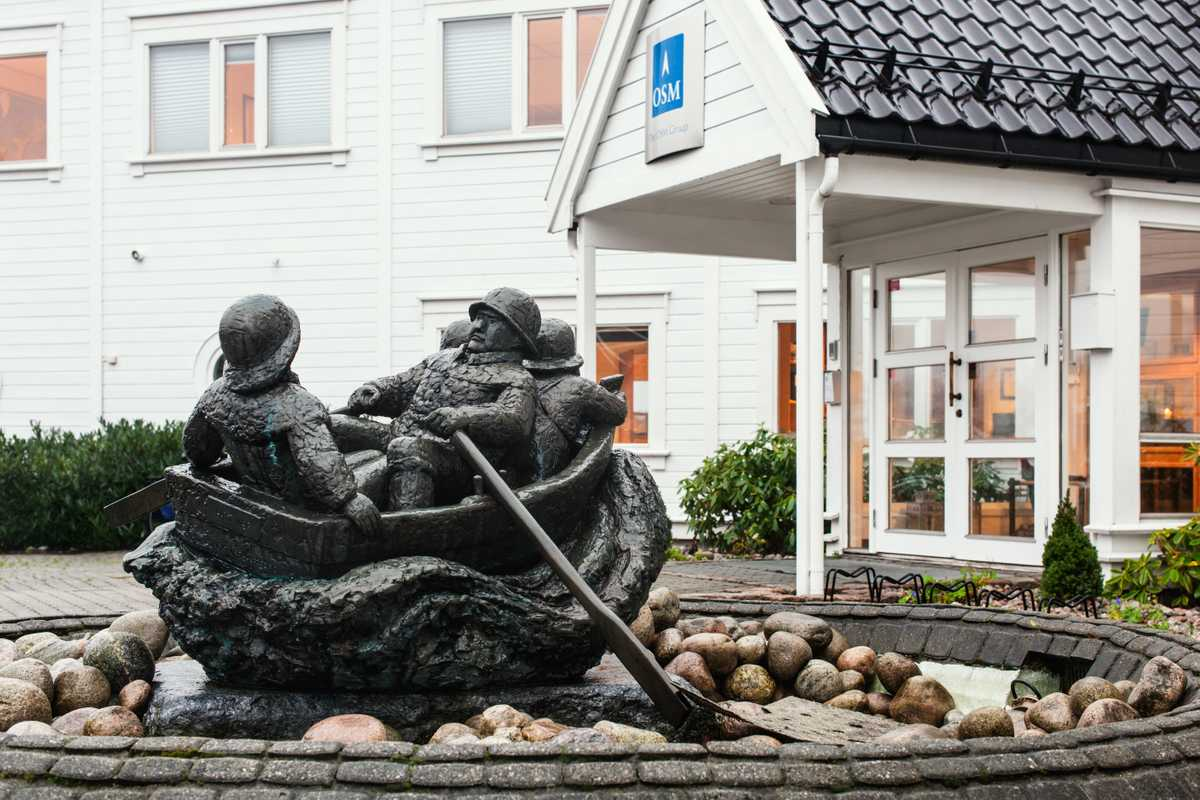 OSM Maritime Group headquarters in Arendal, where the company was founded in 1989