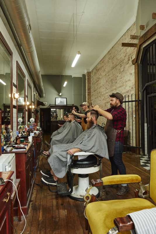 The Alibi Room barbershop