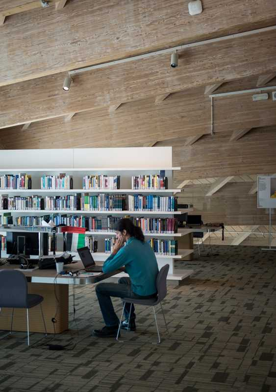 Library designed by Foster + Partners