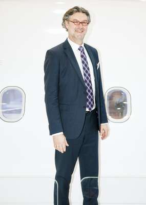 Ingo Wuggetzer, Airbus VP of cabin marketing