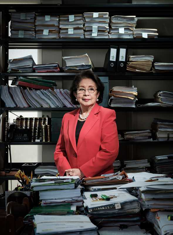 Ombudsman Conchita Carpio-Morales is investigating extrajudicial killings