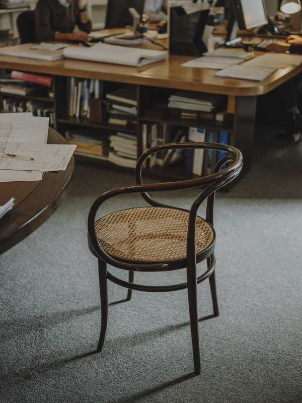 Thonet chair in  the silo offices