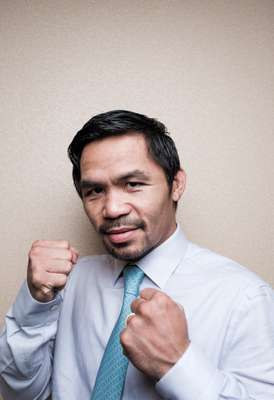 Senator Manny Pacquiao, world-renowned boxer and dark horse for president in 2022
