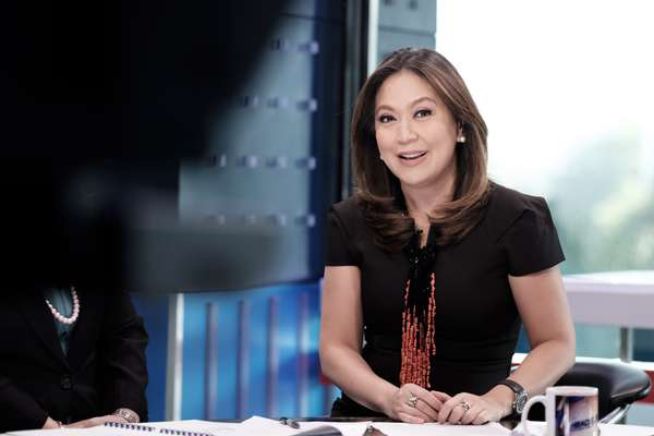 Karen Davila, host of ABS-CBN's morning show 'Headstart'