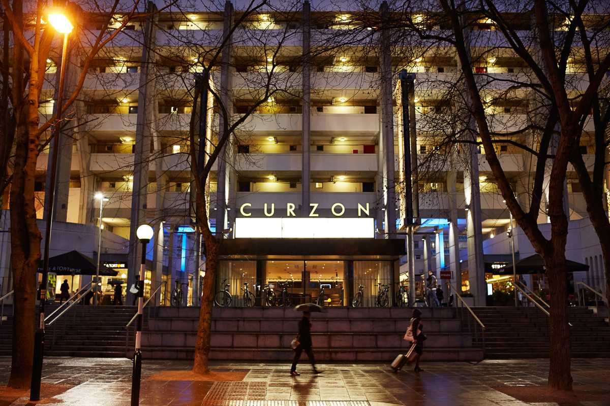 Curzon Bloomsbury sits in the Brunswick Centre