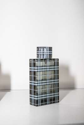 Burberry Brit men's fragrance bottle designed by Baron & Baron