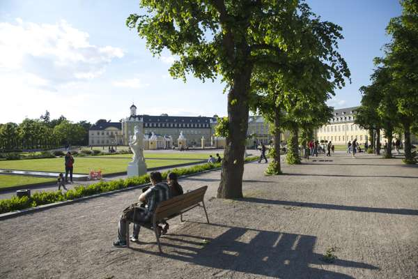 The city was planned around Karlsruhe Palace
