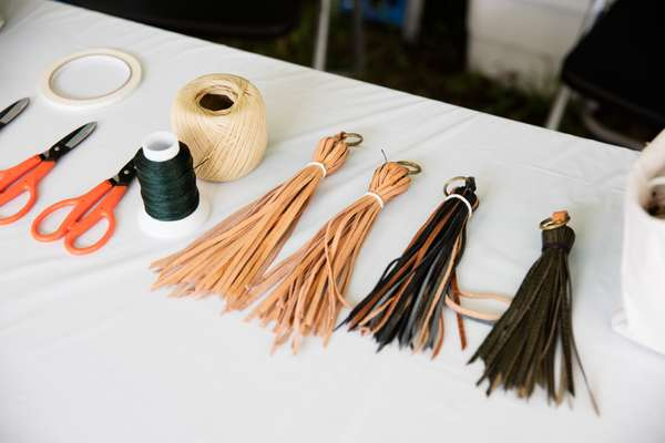 Kagoshima leather craft